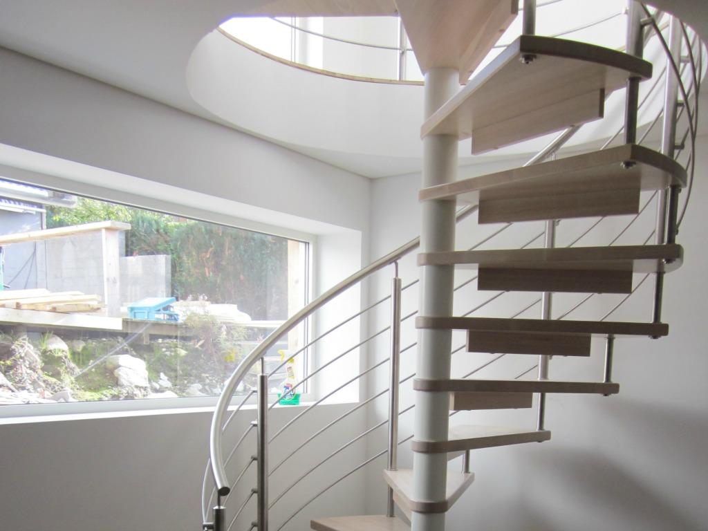 tre spiral trapp : Spiraltrapper - Trappeksperten